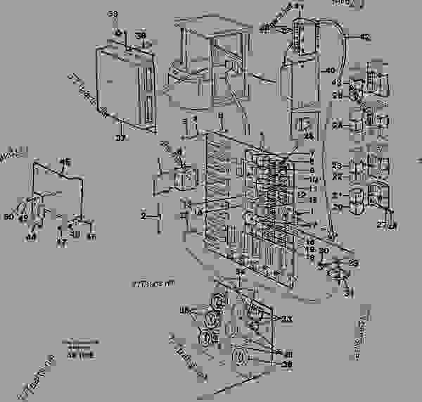 Incredible Electrical Distribution Box Wheel Loaders Volvo L120C Electrical Wiring Cloud Hemtshollocom