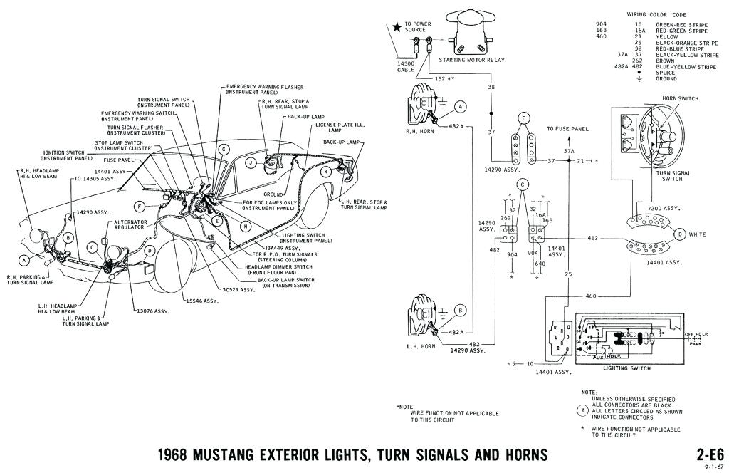 yn0875 1965 ford mustang alternator wiring diagram wiring