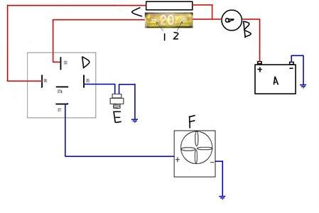 radiator cooling fan relay wiring diagram wl 5621  wiring diagrams pictures moreover 24v fan relay wiring  pictures moreover 24v fan relay wiring