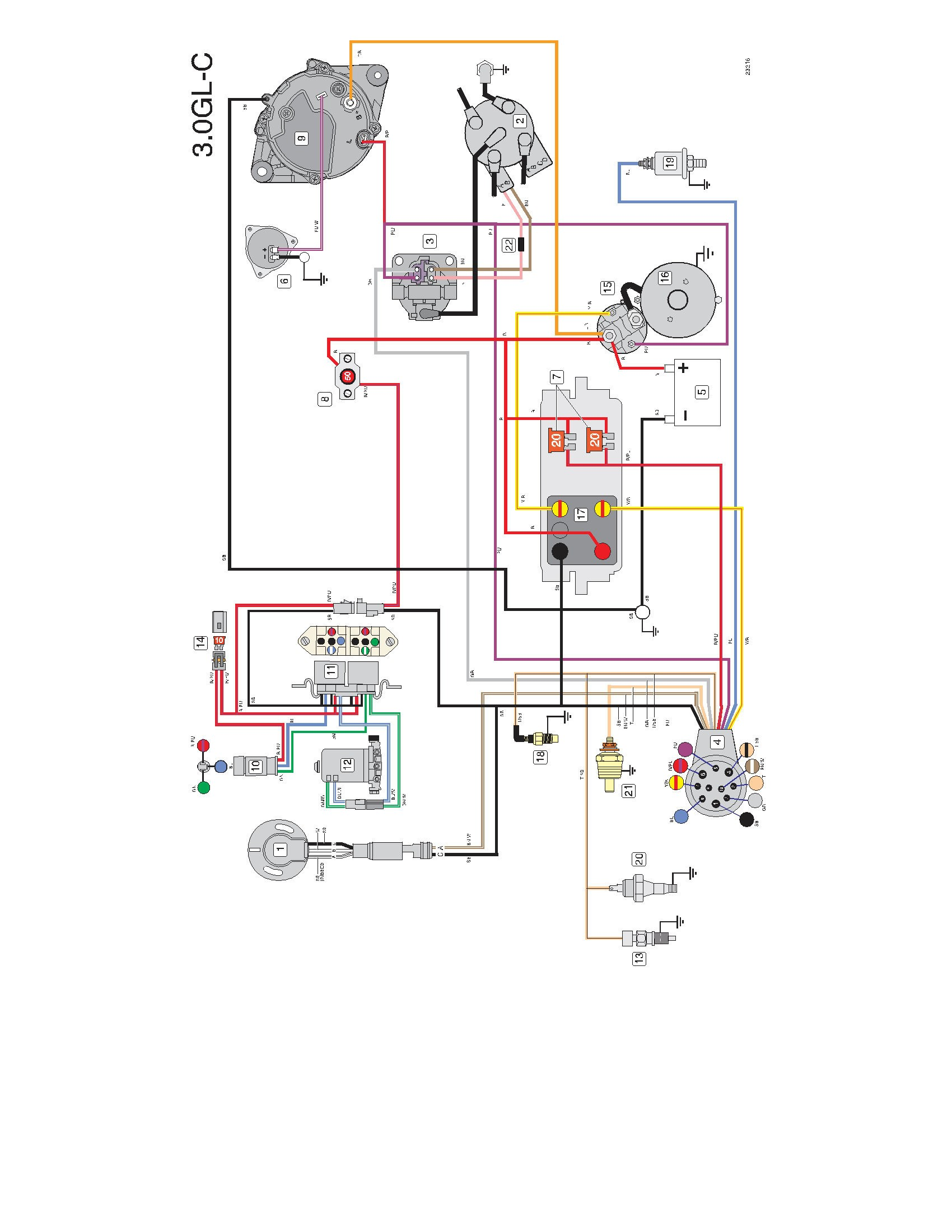 Volvo Penta D4 Alternator Wiring Diagram