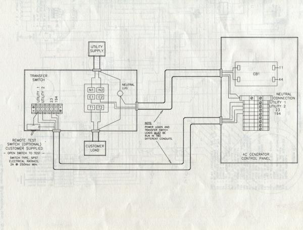 Whole House Electrical Wiring Diagram