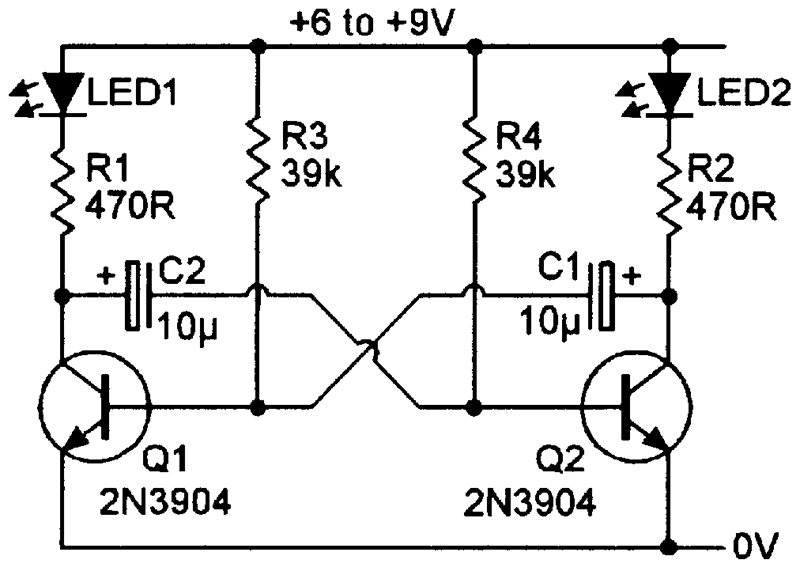 Surprising Practical Led Indicator And Flasher Circuits Nuts Volts Magazine Wiring Cloud Rineaidewilluminateatxorg
