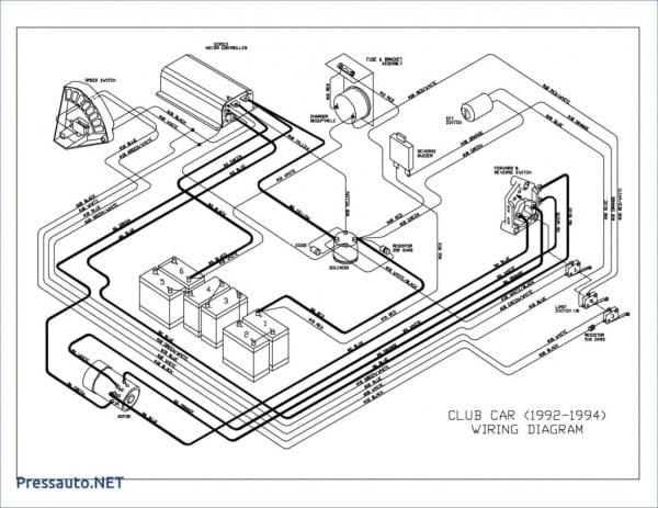 Wiring Diagram For Yamaha G16 Golf Cart