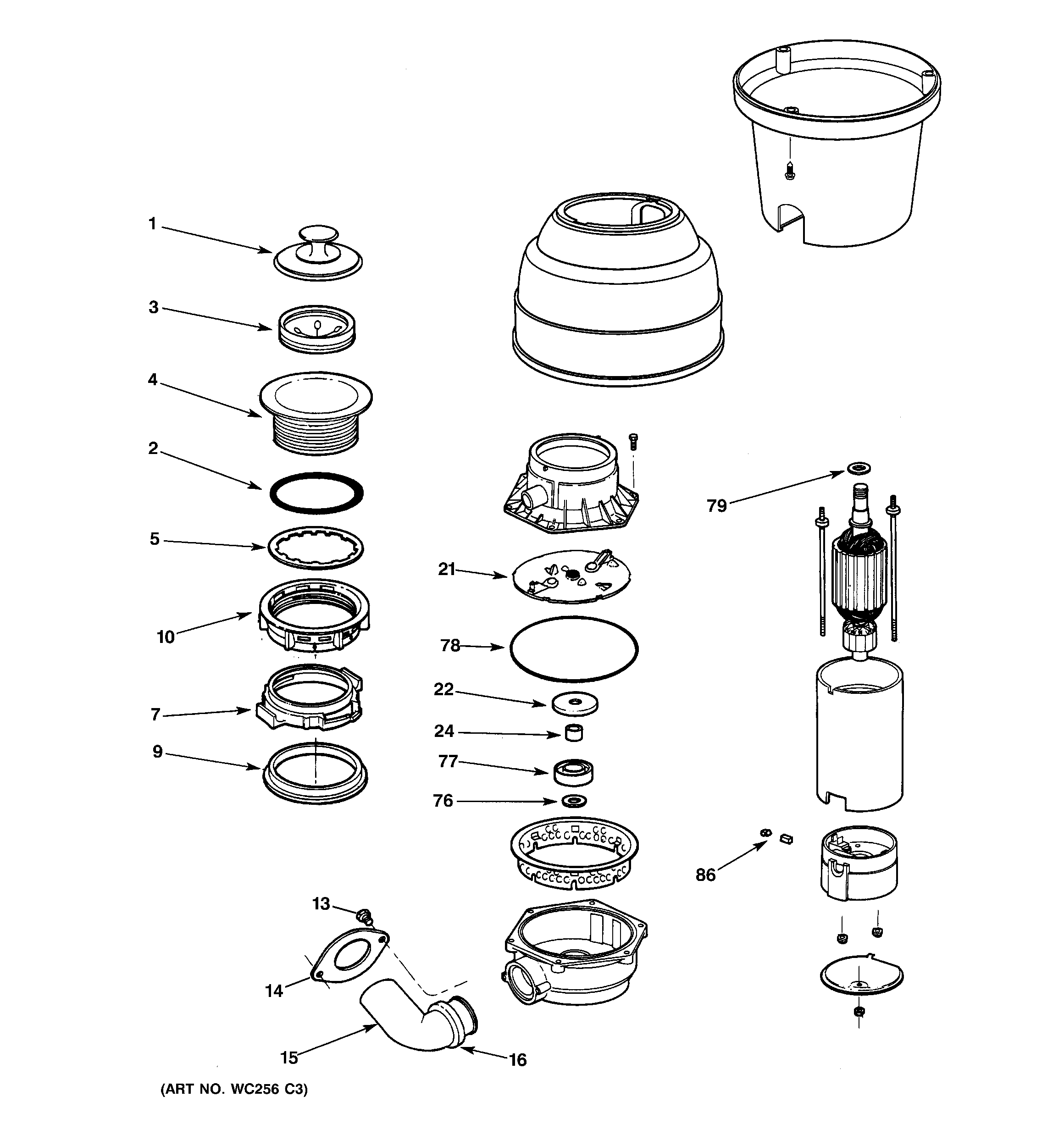 GB_8956] Ge Garbage Disposal Parts Diagram Free Download Wiring Diagram  Download Diagram   Ge Garbage Disposal Wiring Diagram      Www Mohammedshrine Librar Wiring 101