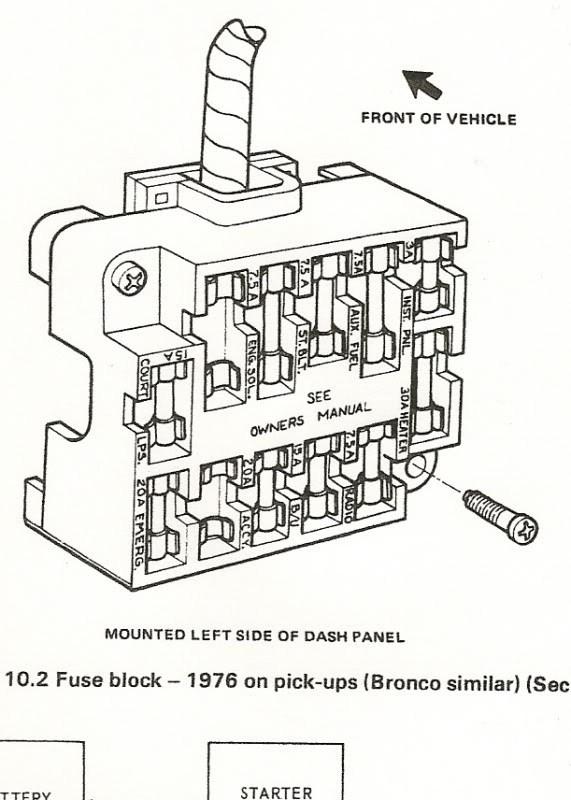 Nl 7159 1984 Ford F 250 Fuse Box Download Diagram