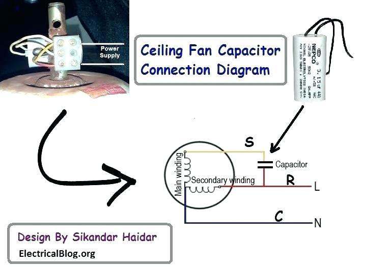 Cl 1218 Celeing Fan Capacitor Wiring Diagram Download Diagram