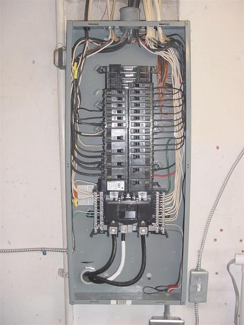 Ge Load Center Wiring Diagram