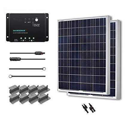 Prime Amazon Com Renogy 200 Watt 12 Volt Polycrystalline Solar Starter Wiring Cloud Hemtshollocom