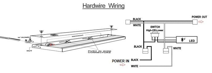 Wiring Diagram For Under Cabinet