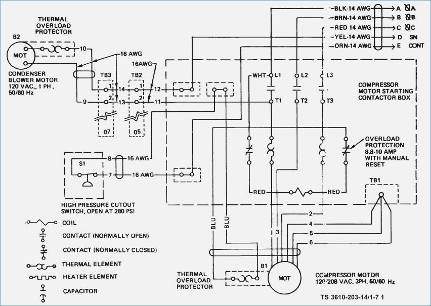 York Air Conditioner Wiring Diagrams