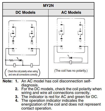 Omron My4n Relay Wiring Diagram