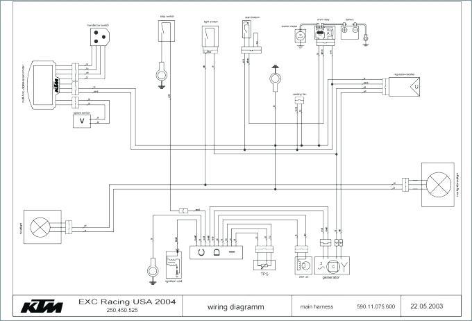 gm4264 ktm exc wiring diagram wiring harness wiring