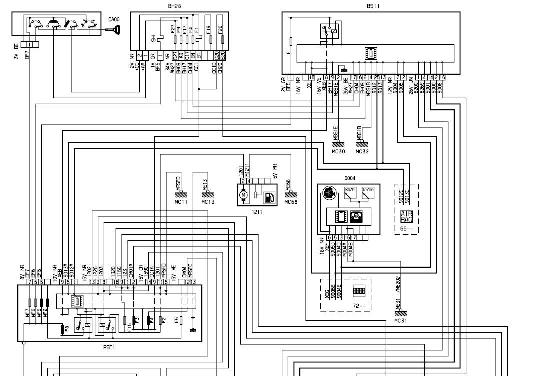 Citroen C4 Abs Wiring Diagram