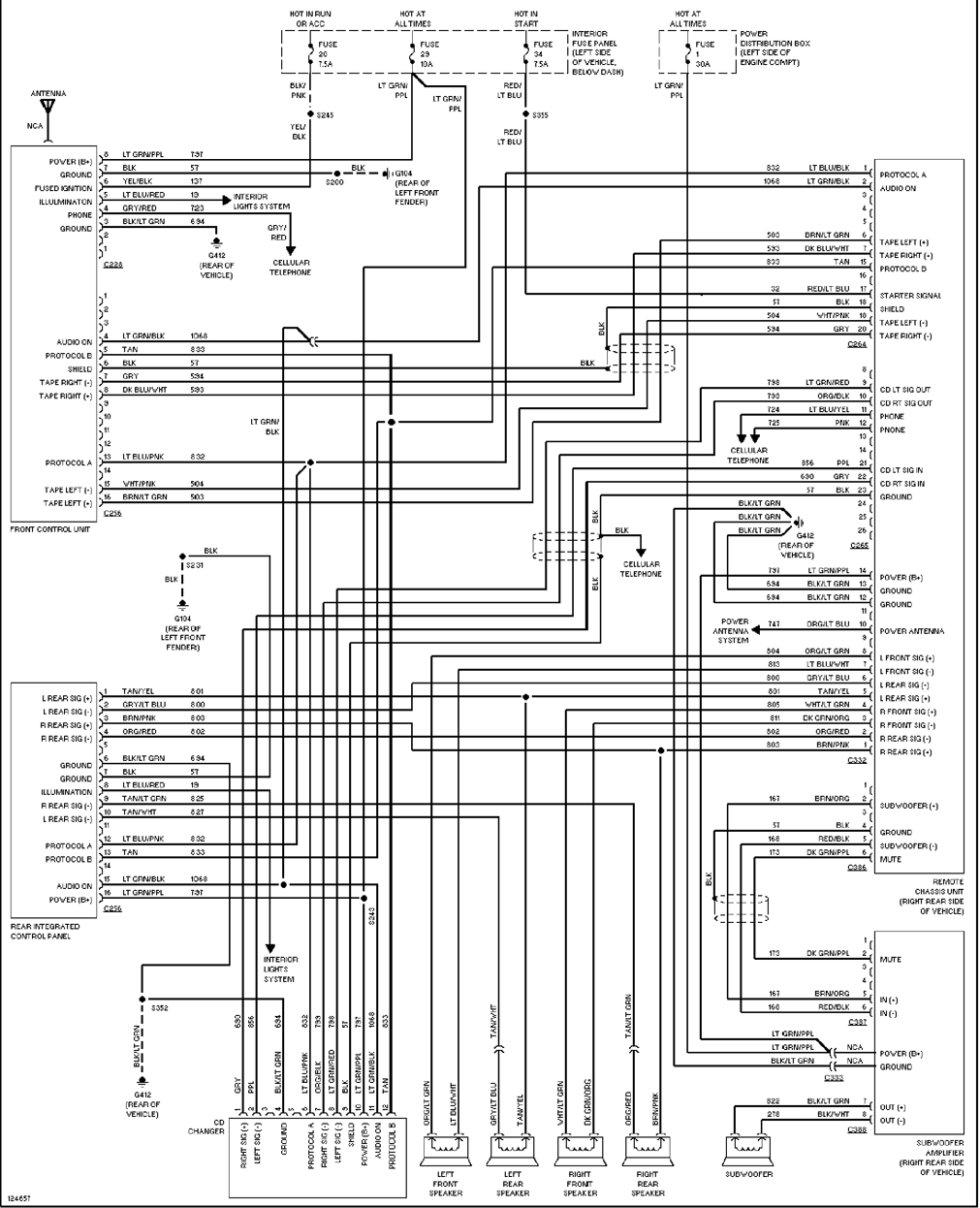 2005 Ford Expedition Radio Wiring Diagram - Wiring Diagram