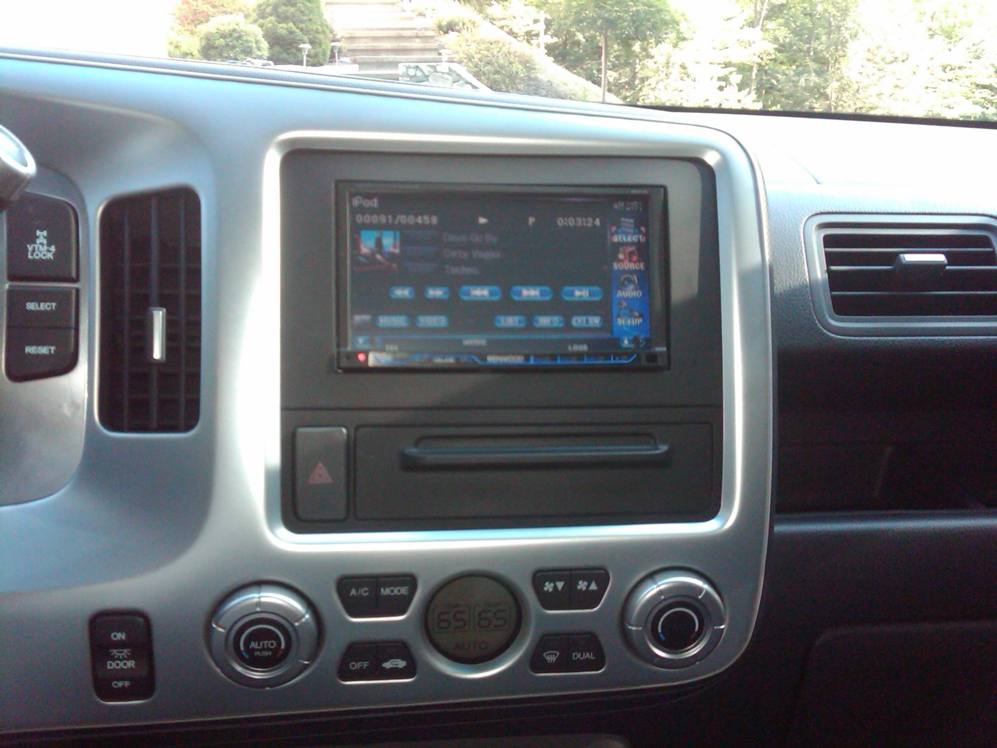 Fits Honda Ridgeline 2005-2008 Single DIN Harness Radio Dash Kit Taupe