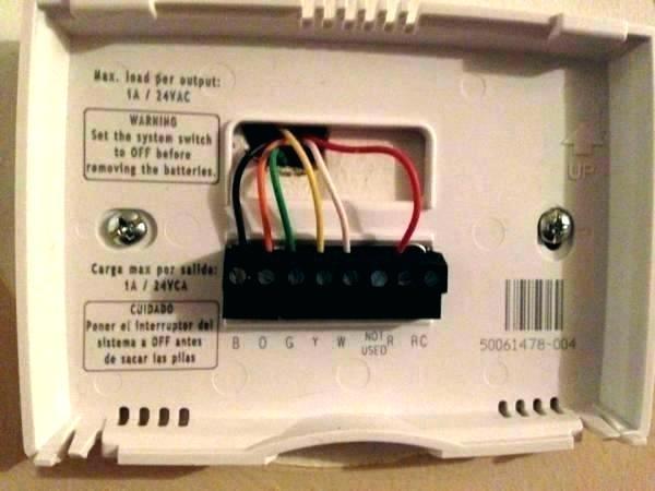 Honeywell Rth2300b 2 Wire Installation, Wiring For Honeywell Thermostat