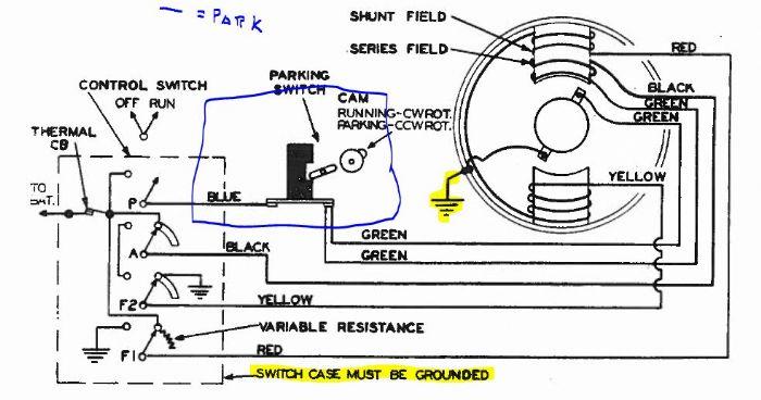 Yd 7634 Wiper Motor Wiring Schematic Wiring