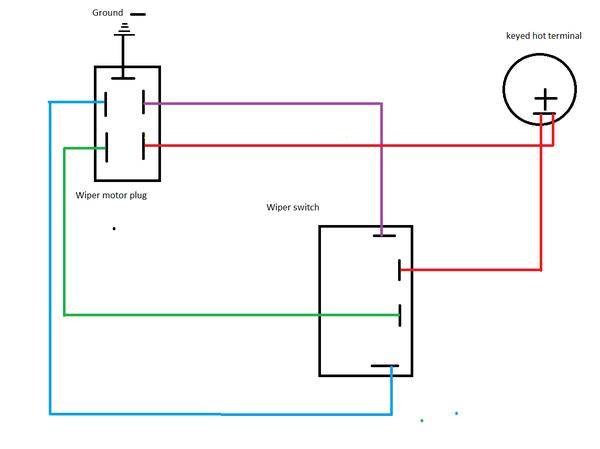 ongaro wiper switch wiring diagram  schematic wiring