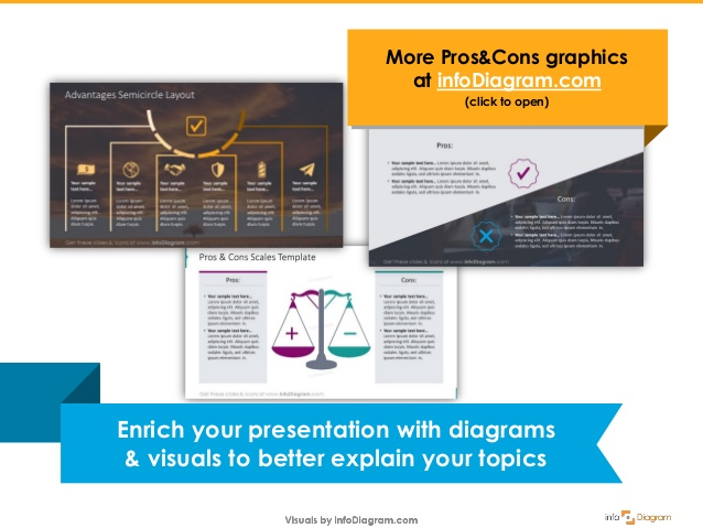 Excellent How To Create Pros Cons Comparison Ppt Diagram Wiring Cloud Faunaidewilluminateatxorg