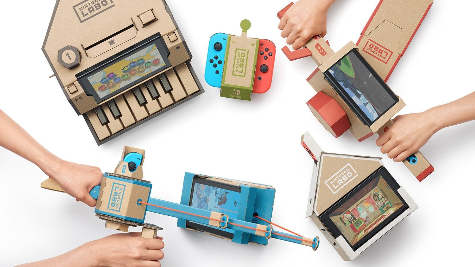 Enjoyable Nintendo Labo For The Nintendo Switch Home Gaming System Wiring Cloud Onicaalyptbenolwigegmohammedshrineorg