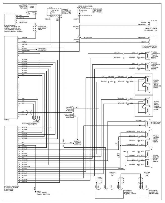 Mercedes Benz W140 Wiring Diagrams