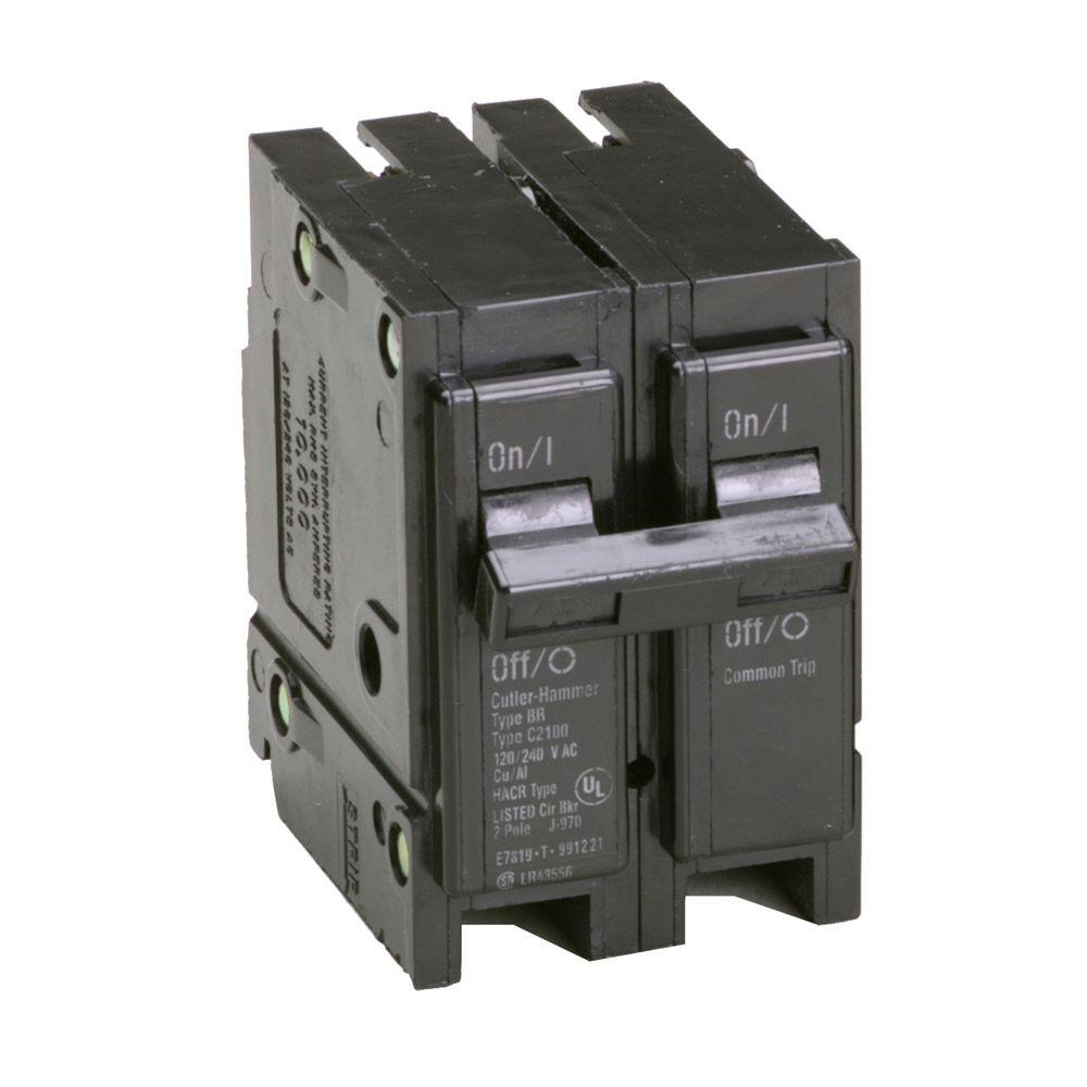 Pleasing Eaton Br 100 Amp 2 Pole Circuit Breaker Br2100Cs The Home Depot Wiring Cloud Ittabisraaidewilluminateatxorg