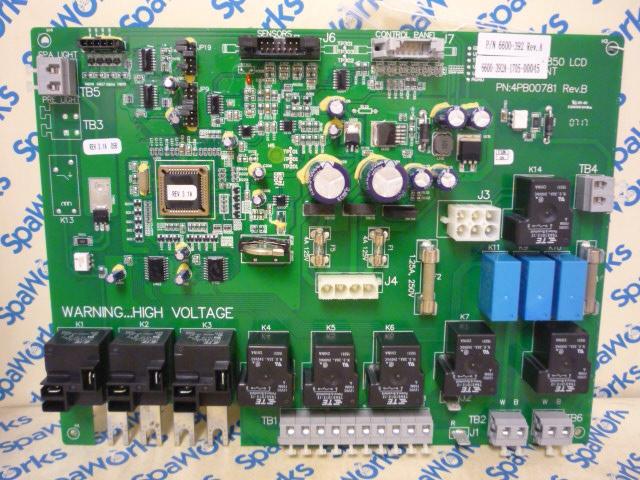 Awesome 6600 398 Circuit Board 2012 880 3 Pump Spas Spa Works Supply Wiring Cloud Licukosporaidewilluminateatxorg