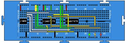 Outstanding Traffic Lights Circuit Implemented On Java Breadboard Download Wiring Cloud Ittabisraaidewilluminateatxorg