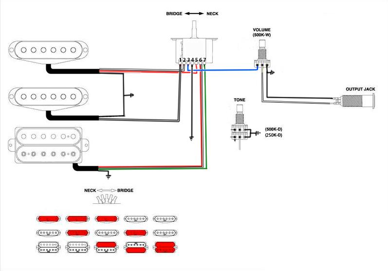 Suhr Hss Wiring Diagram