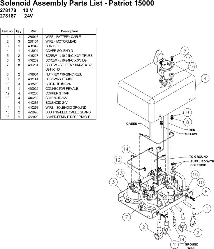 Ramsey Winch Wire Diagram 2007 F 150 Lariat Fuse Diagram For Wiring Diagram Schematics
