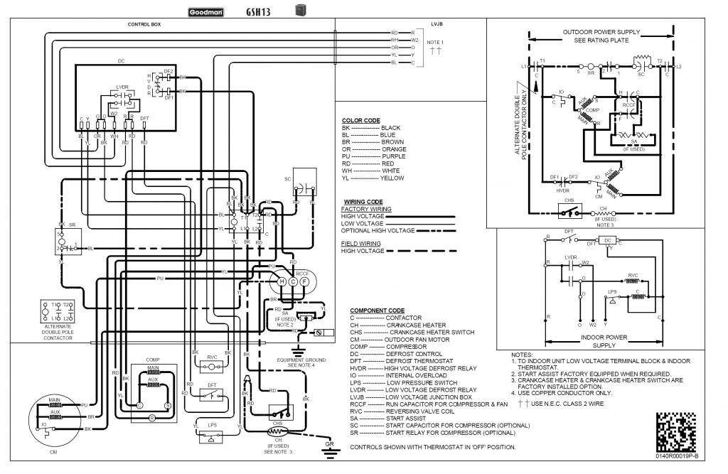 wiring diagram rheem heat pump  black white green wiring