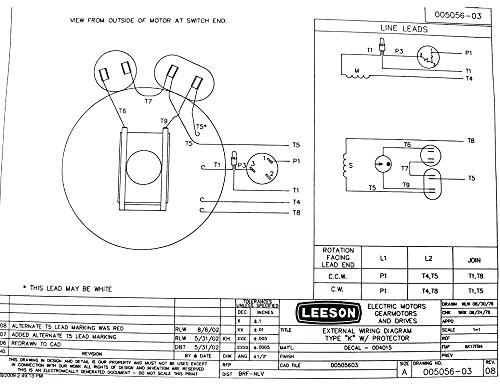 leeson electric motors wiring diagram  vdo tachometer with