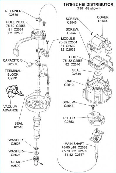 Wiring Diagram For Chevy Hei Distributor