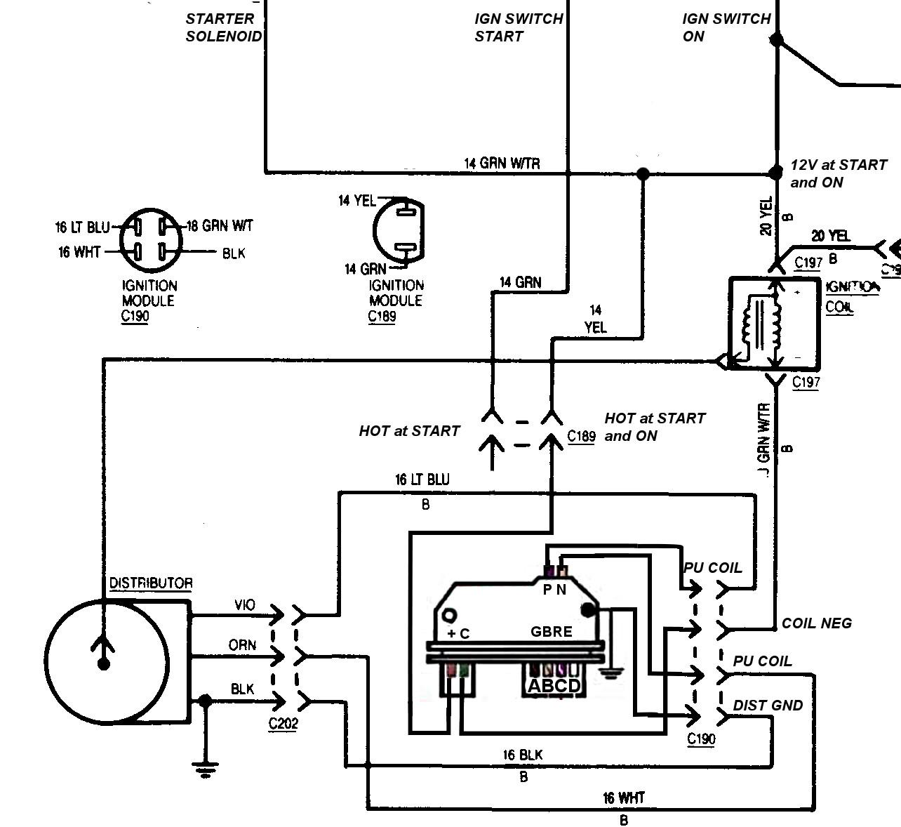 chevy hei distributor wiring diagram 1975 chevy hei wiring diagram wiring diagram data  1975 chevy hei wiring diagram wiring