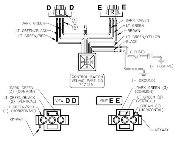 Velvac Wiring Diagram - Wiring Diagrams DataUssel
