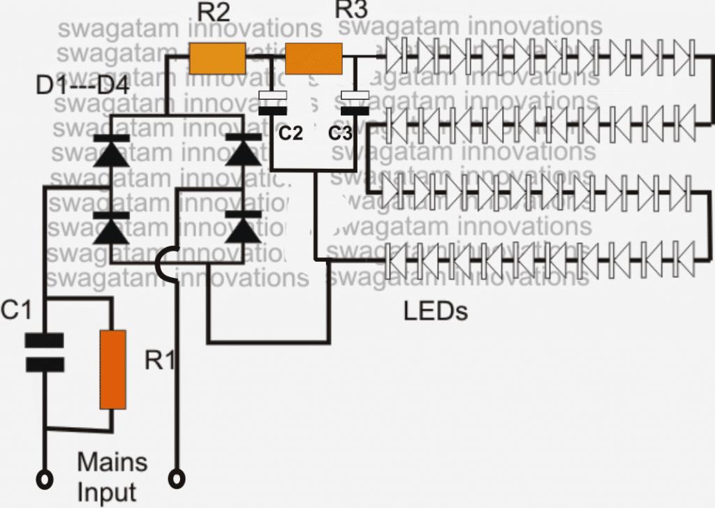 Terrific 3 Best Led Bulb Circuits You Can Make At Home Homemade Circuit Wiring Cloud Rdonaheevemohammedshrineorg