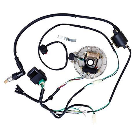 Sensational Amazon Com All Electrics Kick Start 50 110 125Cc 140 Wire Harness Wiring Cloud Waroletkolfr09Org