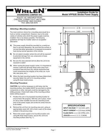 Whelen Wiring Diagram Model 9438 - 2006 Ford Ranger Fuse Box Diagram Pdf -  fusebox.1997wir.jeanjaures37.frWiring Diagram Resource