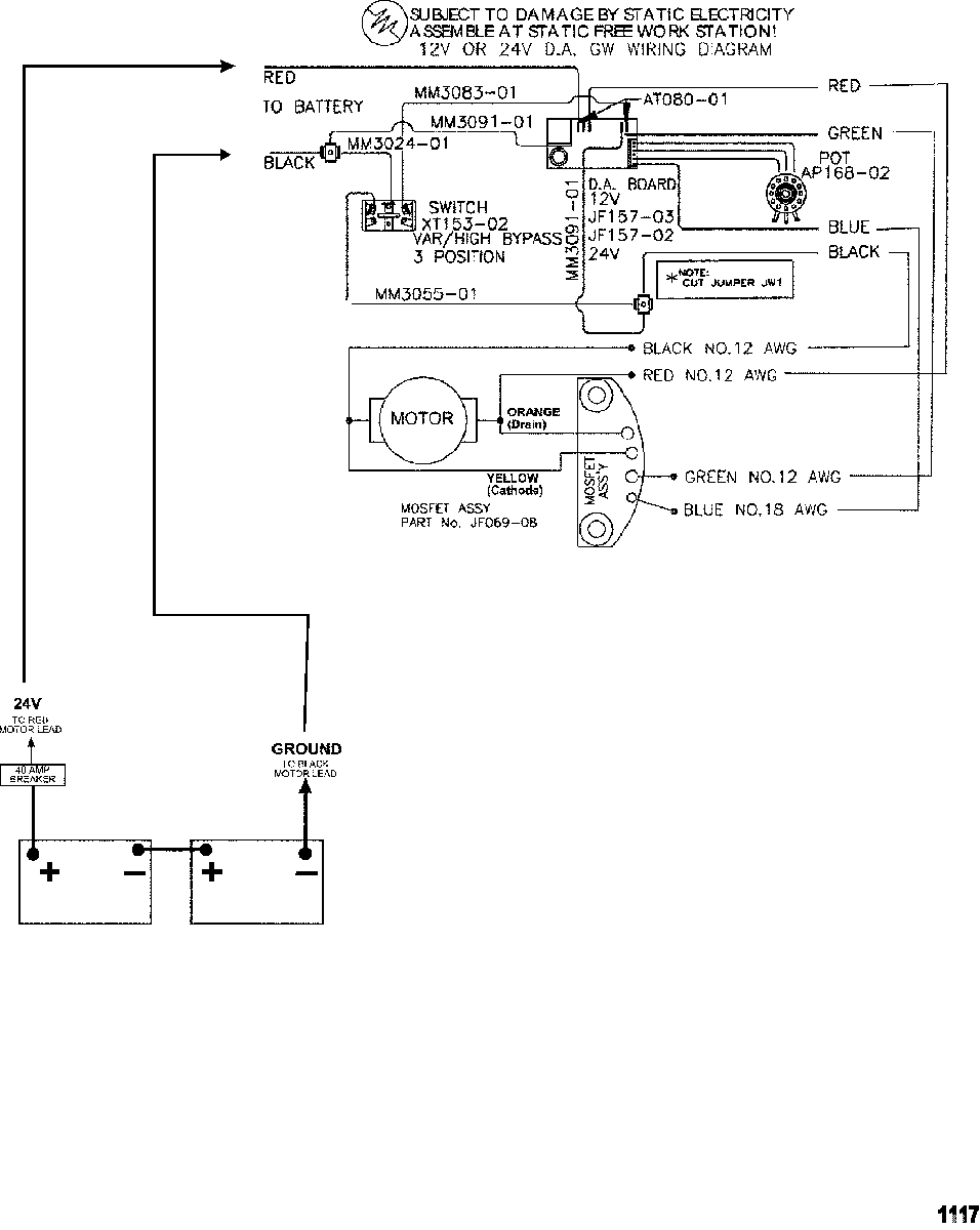 Wiring Diagram Motorguide Trolling Motor Parts Diagram