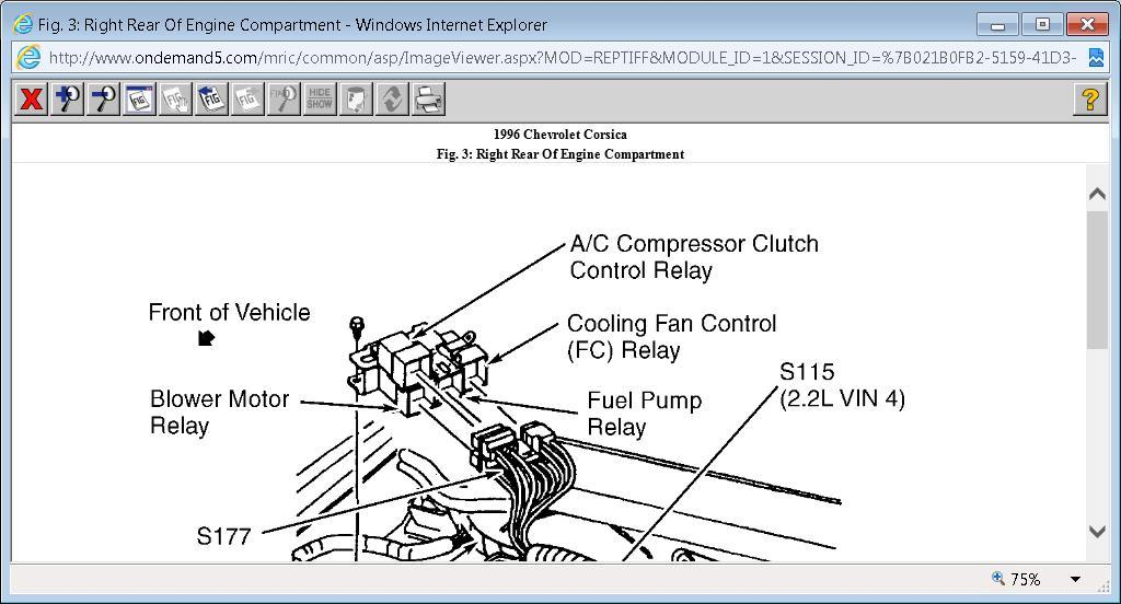 Free 1991 Corsica Wiring Diagram