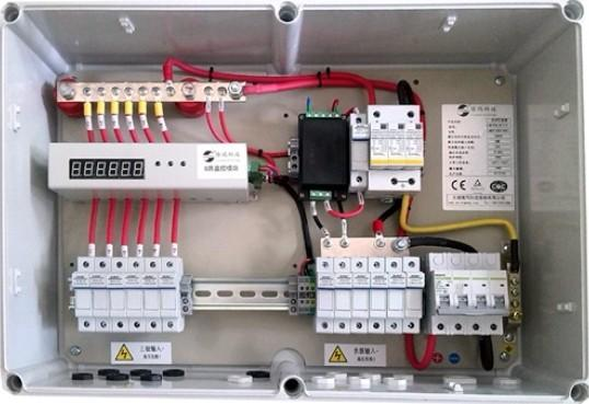 Admirable 10A String Monitoring Solar Panel Combiner Box 1000V Dc With Steel Wiring Cloud Staixaidewilluminateatxorg