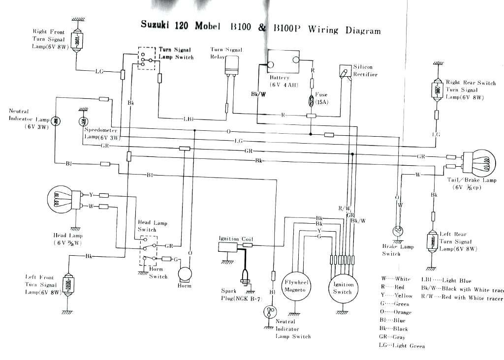 Suzuki Ts185 Wiring Diagram 1973