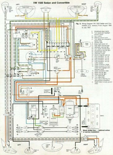 Brilliant 66 And 67 Vw Beetle Wiring Diagram Articles From 1967Beetle Com Wiring Cloud Licukaidewilluminateatxorg