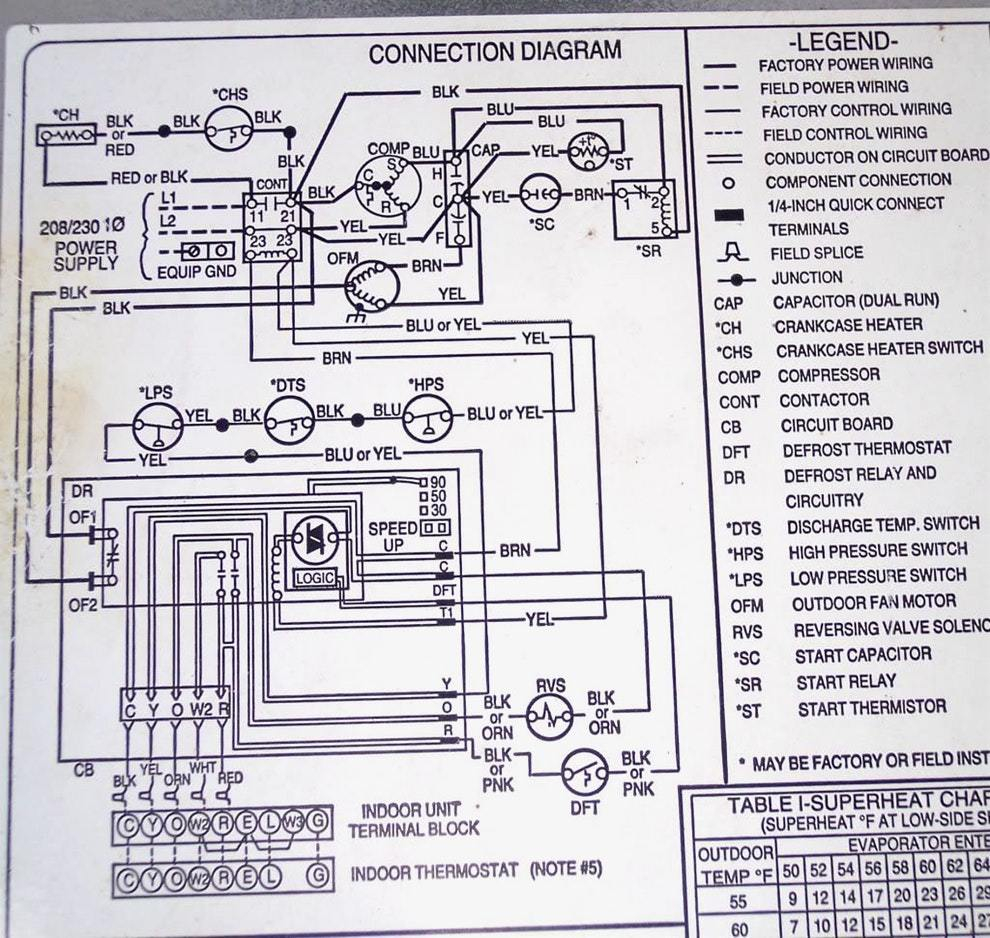 Mh 6510  Payne Thermostat Wiring Download Diagram