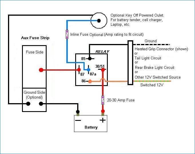 FW_1261] Also Ignition Switch Wiring Diagram Also 5 Pin Relay Wiring Diagram  Wiring DiagramCular Eachi Barep Barba Mohammedshrine Librar Wiring 101