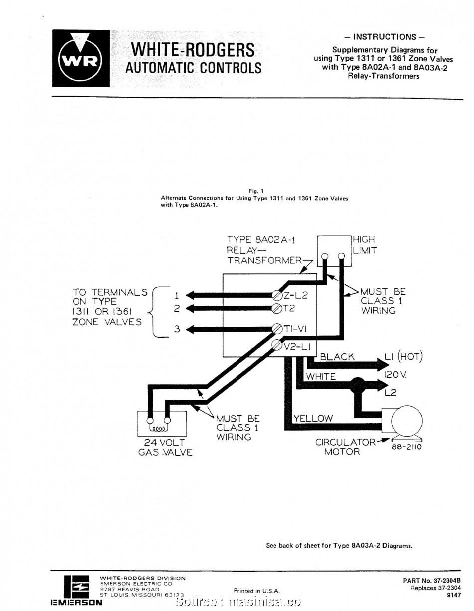 Ds 1622 White Rodgers Zone Valve Wiring Diagram White Rodgers 1361 Zone Valve Wiring Diagram