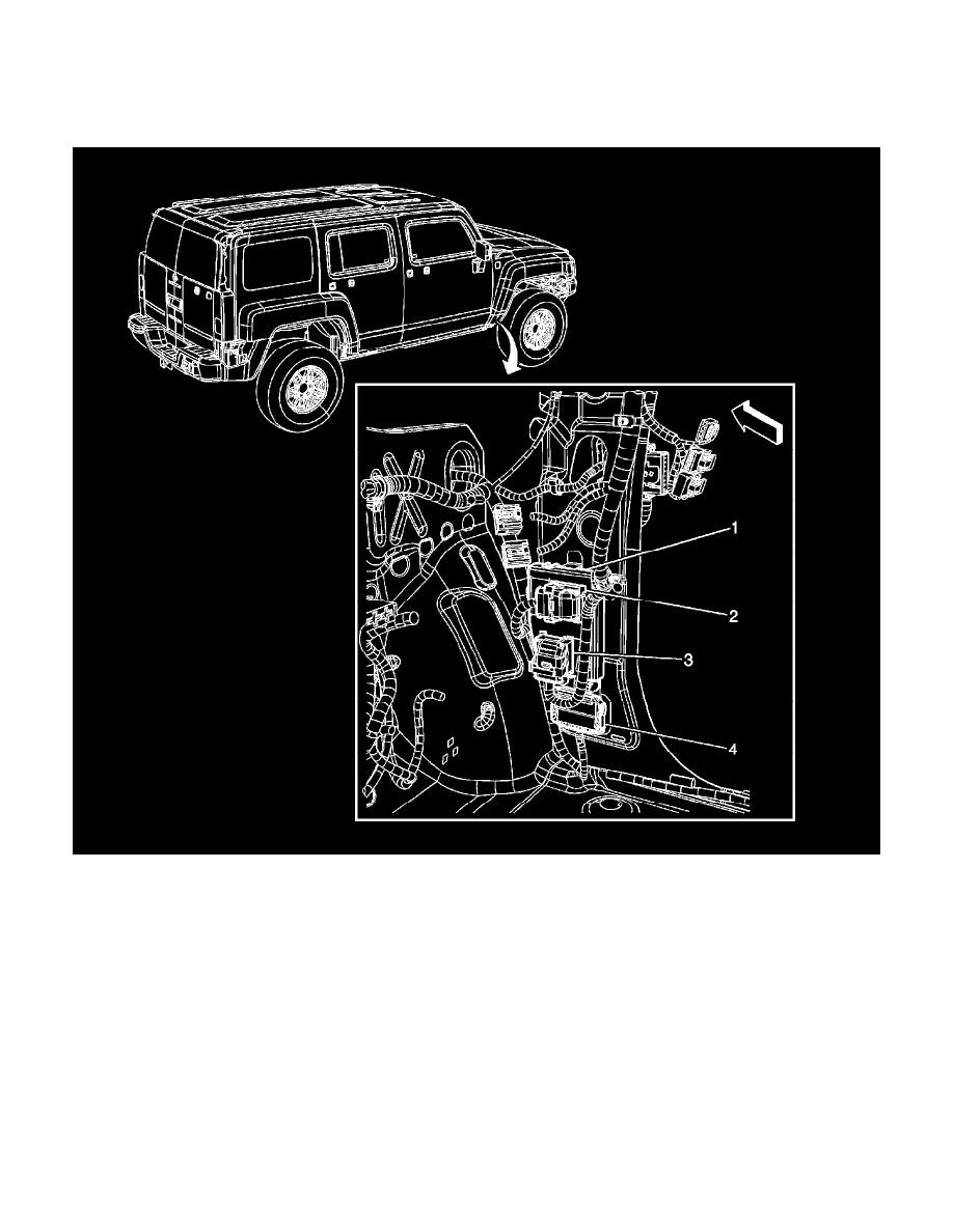 Incredible Hummer Workshop Manuals H3 L5 3 7L 2007 Body And Frame Body Wiring Cloud Gufailluminateatxorg