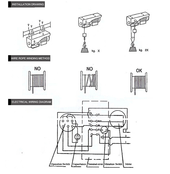 Wiring Diagram Electric Winch