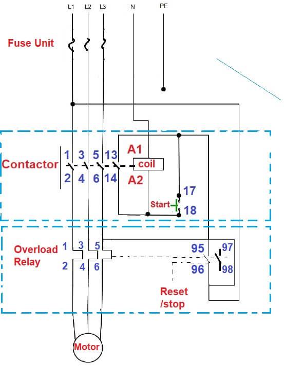 Surprising Direct Online Starter Dol Starter Working Principle Control Wiring Wiring Cloud Xempagosophoxytasticioscodnessplanboapumohammedshrineorg
