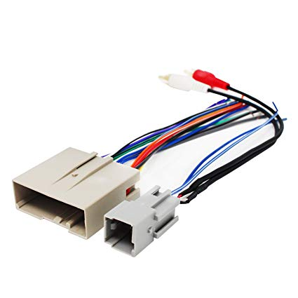 Fabulous Amazon Com Replacement Radio Wiring Harness For 2007 Ford F 150 Wiring Cloud Rdonaheevemohammedshrineorg